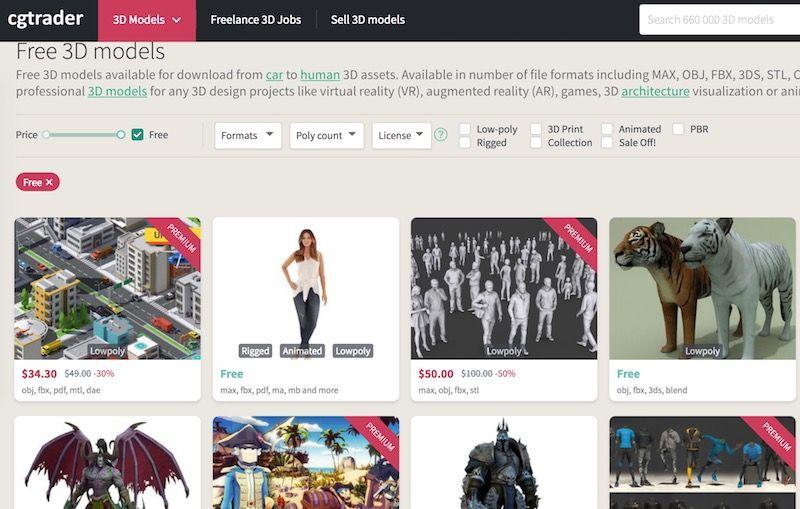 50 Sites To Download Free 3d Models Best Of Model Design Tops