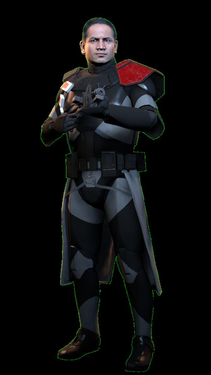 Lego Star Wars Custom Clone Shadow Trooper Commander