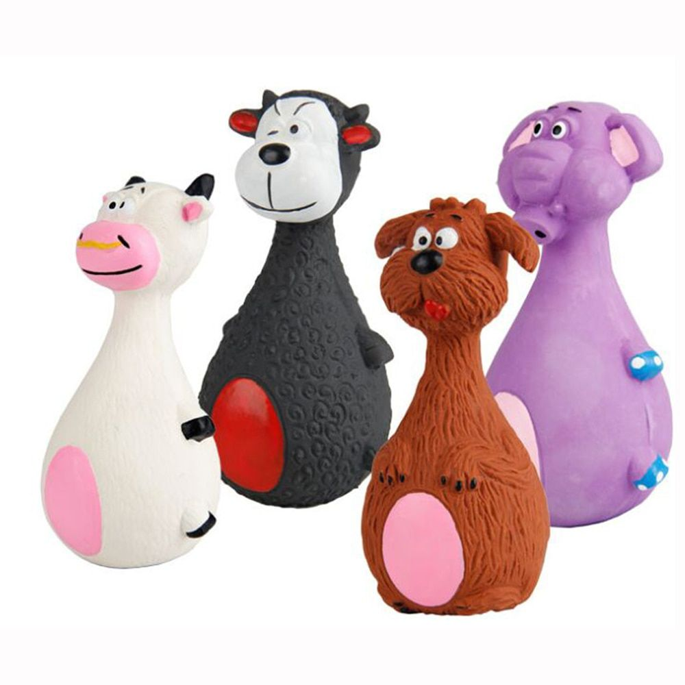 Soft Rubber Squeaky Chew Toys //Price 14.12 & FREE