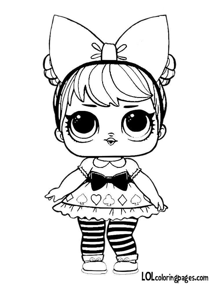 New Coloring Pages Lol Dolls Free Boyama Kitaplari Boyama