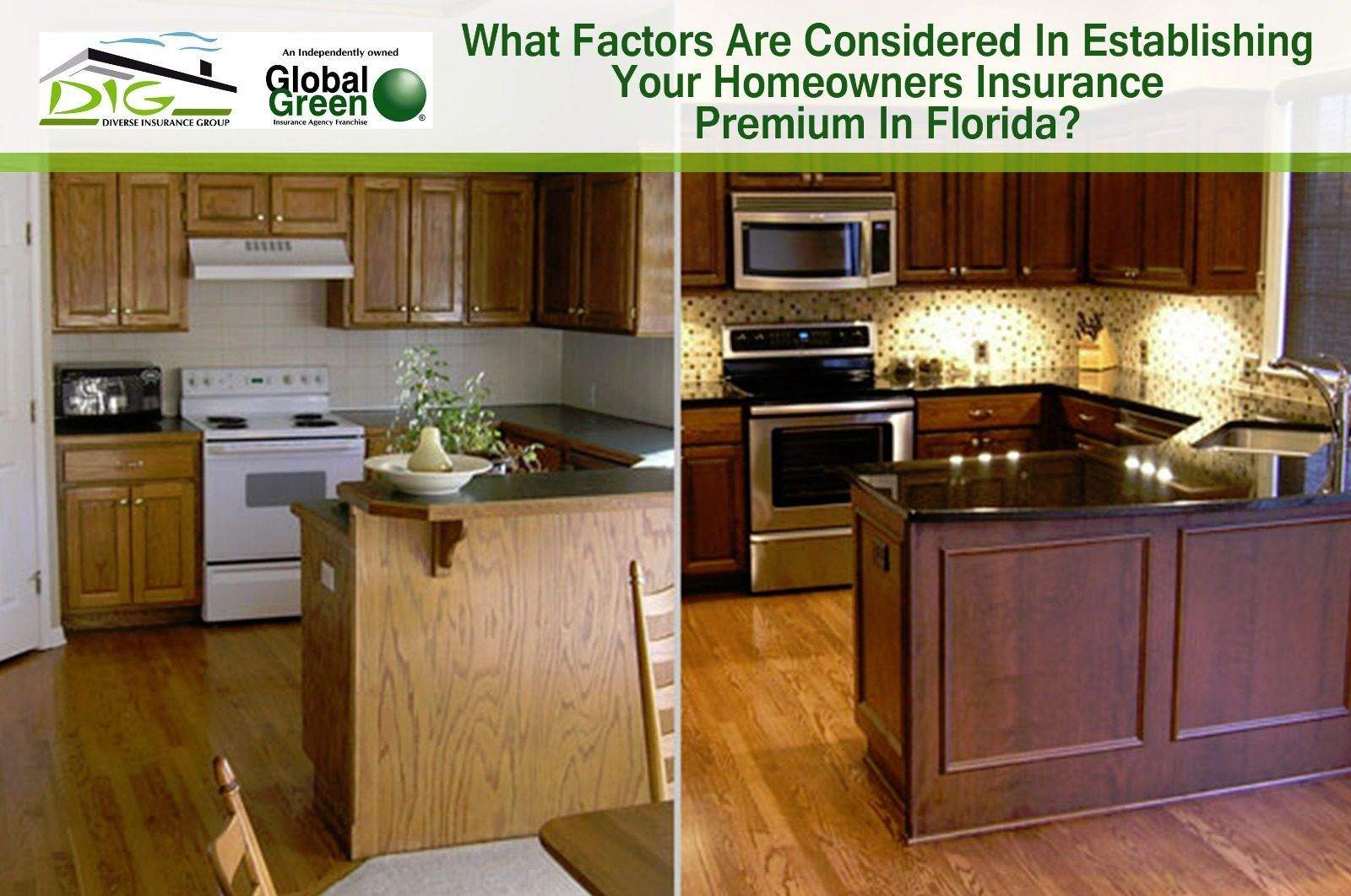 Pin By Alex Wat On What Factors Are Considered In Establishing Your Homeowners Insurance Premium In Florida Glazed Kitchen Cabinets Kitchen Cabinets Before And After Kitchen Remodel
