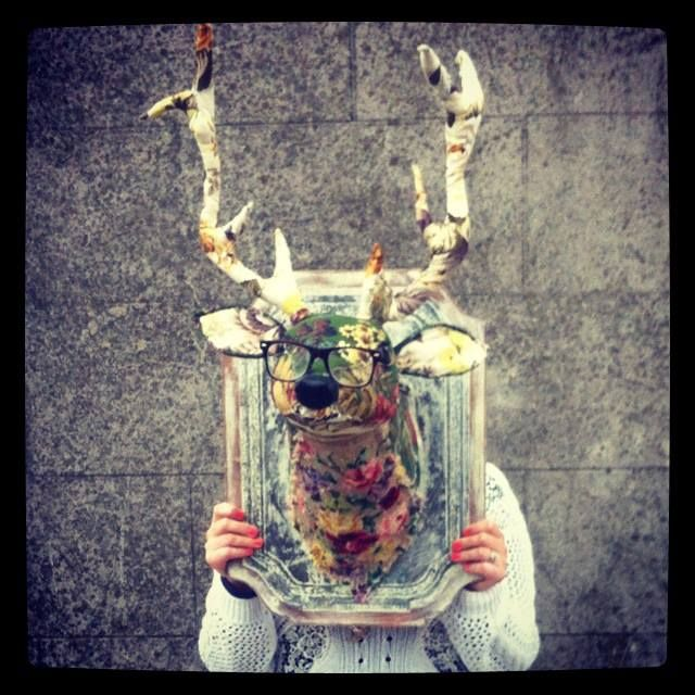 Editor's Pick / Kyle Lane Upcycled Stag's Head