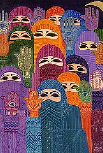Una Señora más brillante que el sol - Fátima  http://paginasarabes.com/2012/08/13/una-senora-mas-brillante-que-el-sol-fatima/