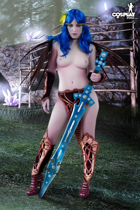 Sexy fantasy costumes naked