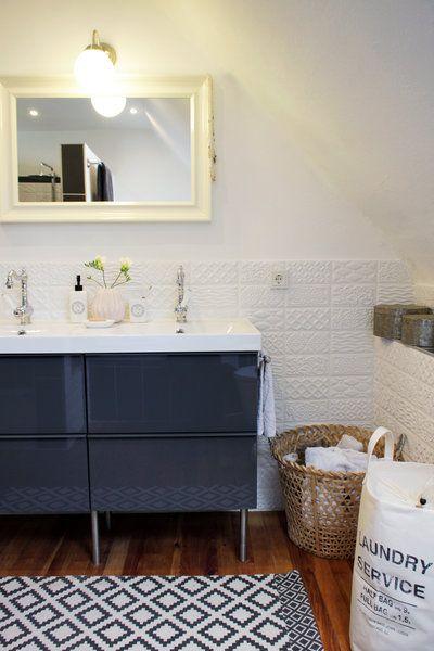 Badezimmer im skandinavischen Stil | Skandinavischer stil ...