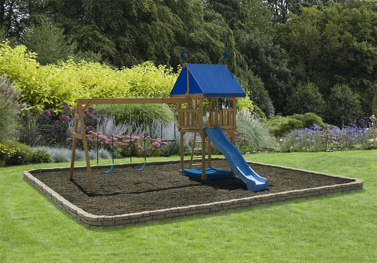 Play Mor Simple Joys Swing Set in 2020 | Large backyard ...