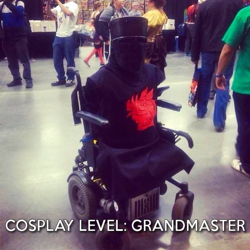 Tis but a scratch... #cosplay