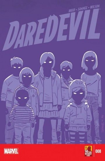 Daredevil (2014-) #8 - Matt Murdock takes on his first big case in his new hometown, and the opposition is killer! Daredevil is faced with a menace he has no idea how to fight; the Purple Children!