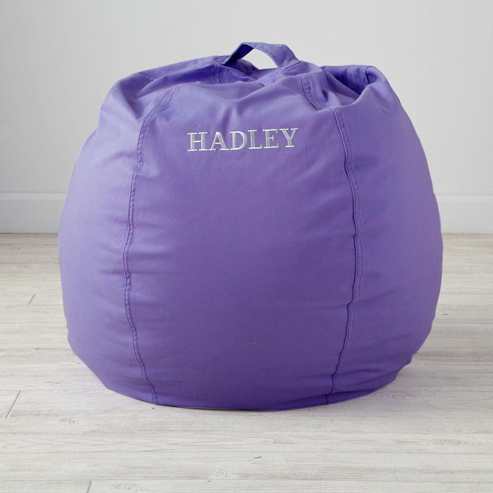 Marvelous Personalized 30 Cool Beans Purple Bean Bag Chair Machost Co Dining Chair Design Ideas Machostcouk