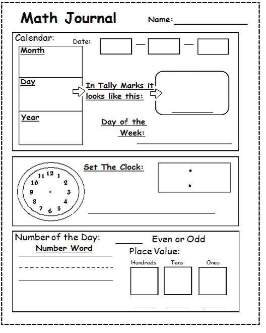 Calendar Worksheet For Kindergarten Worksheets for all | Download ...