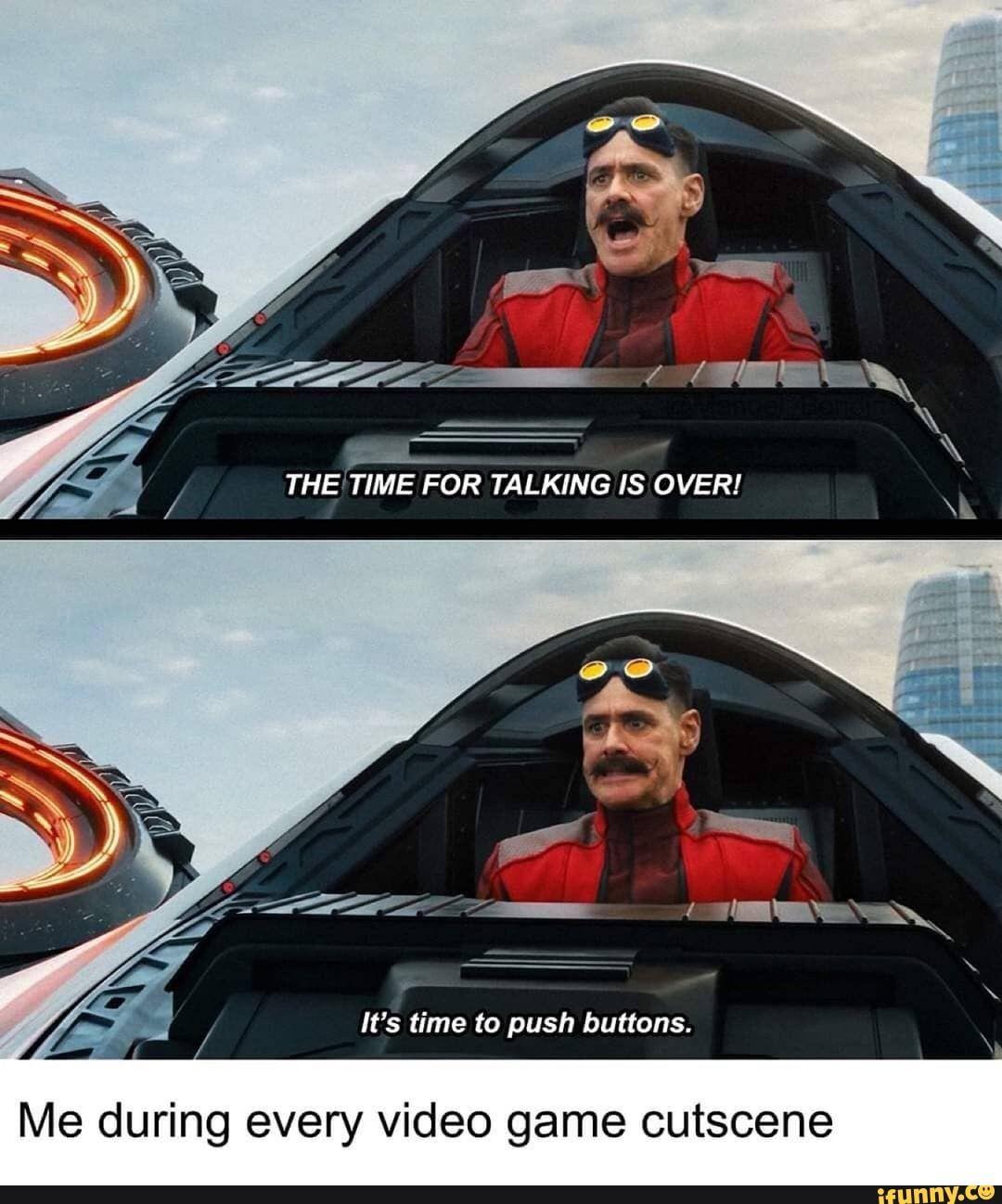 Push Button Meme Format