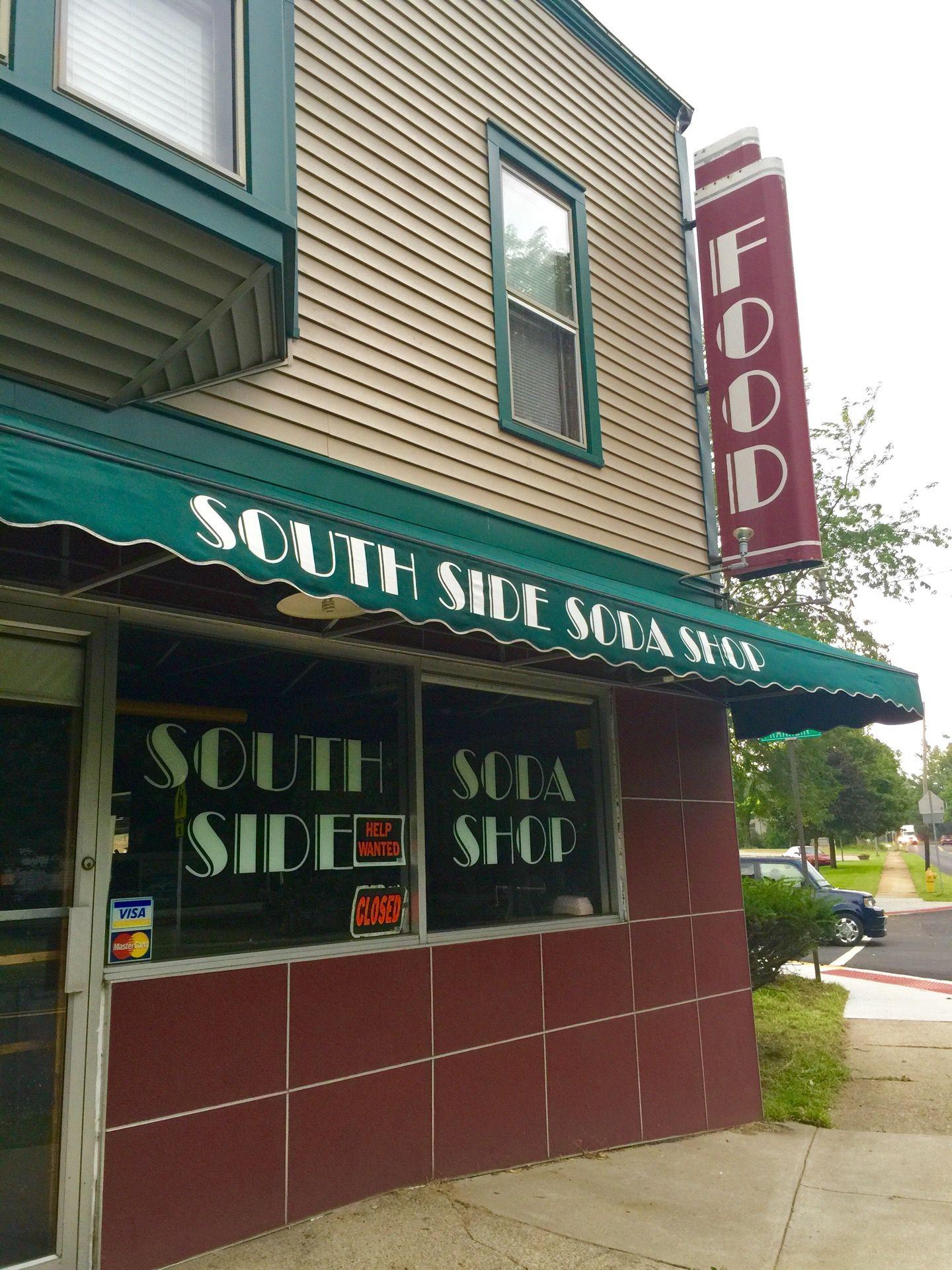 South Side Soda Shop Farmhouse restaurant, American