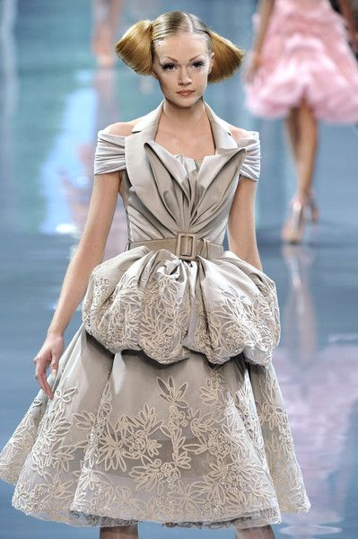 Christian Dior at Couture Fall 2008
