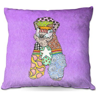 LiLiPi On A Mission Decorative Accent Throw Pillow
