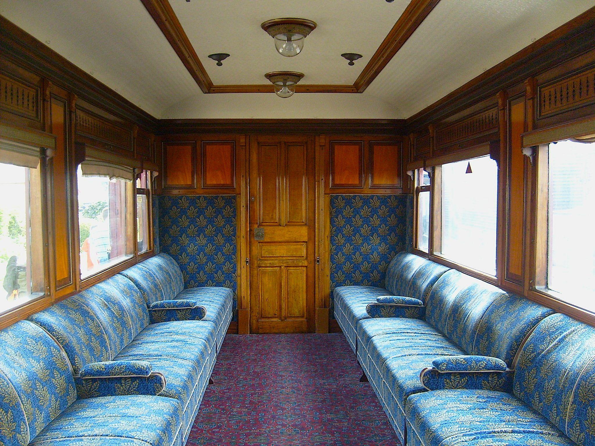 vintage railway carriage interior Google Search