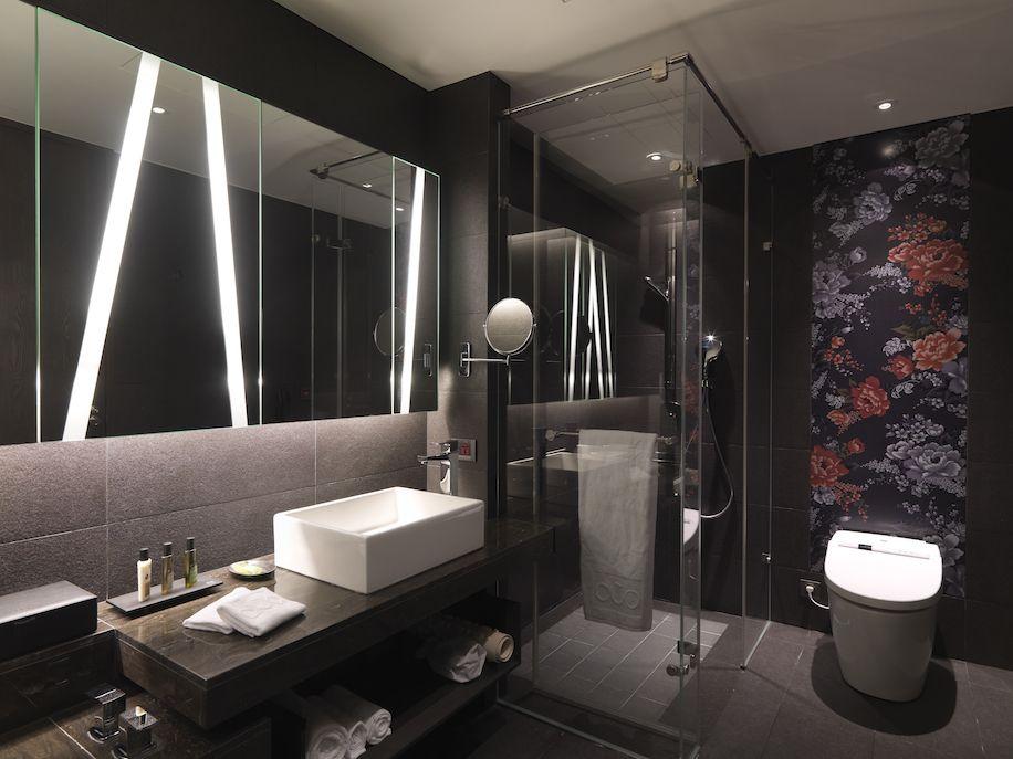 Gallery Of Hotel Dua Koan Design 30 Minimalist Bathroom Design Black Bathroom Decor Bathroom Design Luxury Hotel bathroom design ideas with