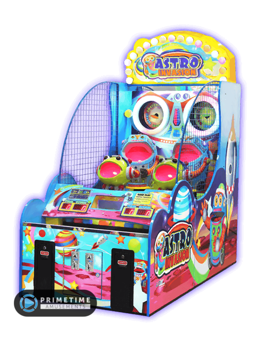 Astro Invasion Astro, Led color changing lights, Games