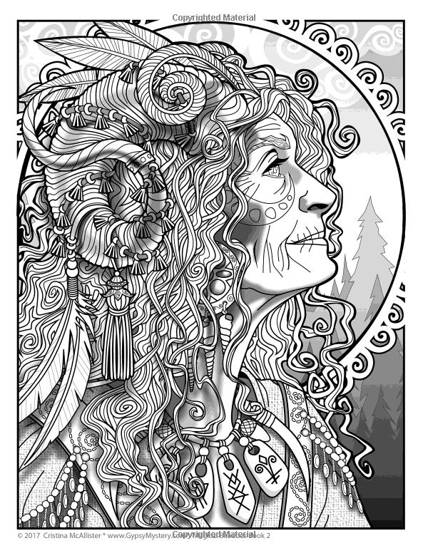 Amazon.com: Magical Beauties Coloring Book: Book 2 (Volume 2) (9781977669711): Cristina