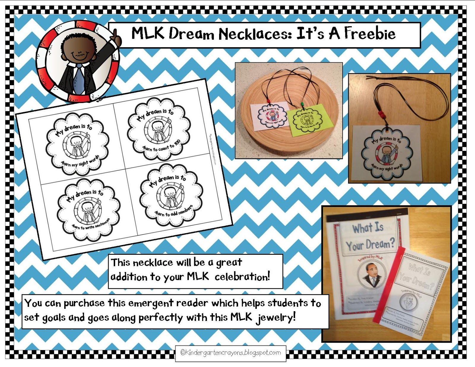 Come Over To My Blog For A Mlk Freebie With Images