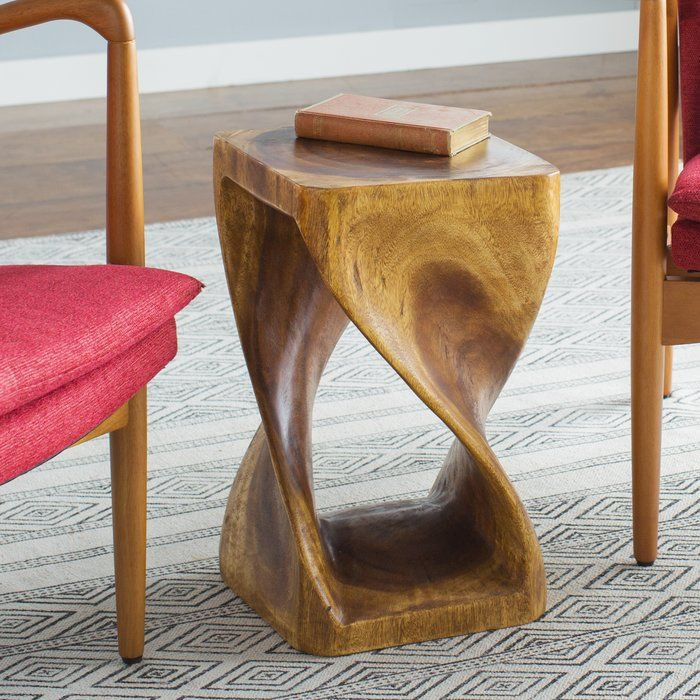 Unique Haumea Twist End Table Ideas - Beautiful brown coffee table set For Your House