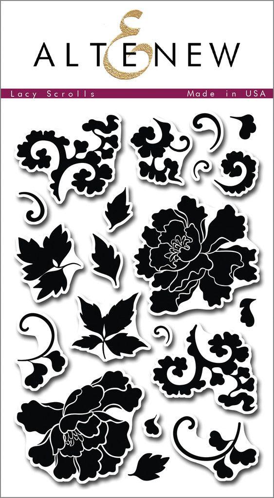Lacy Scrolls - Altenew  - 1