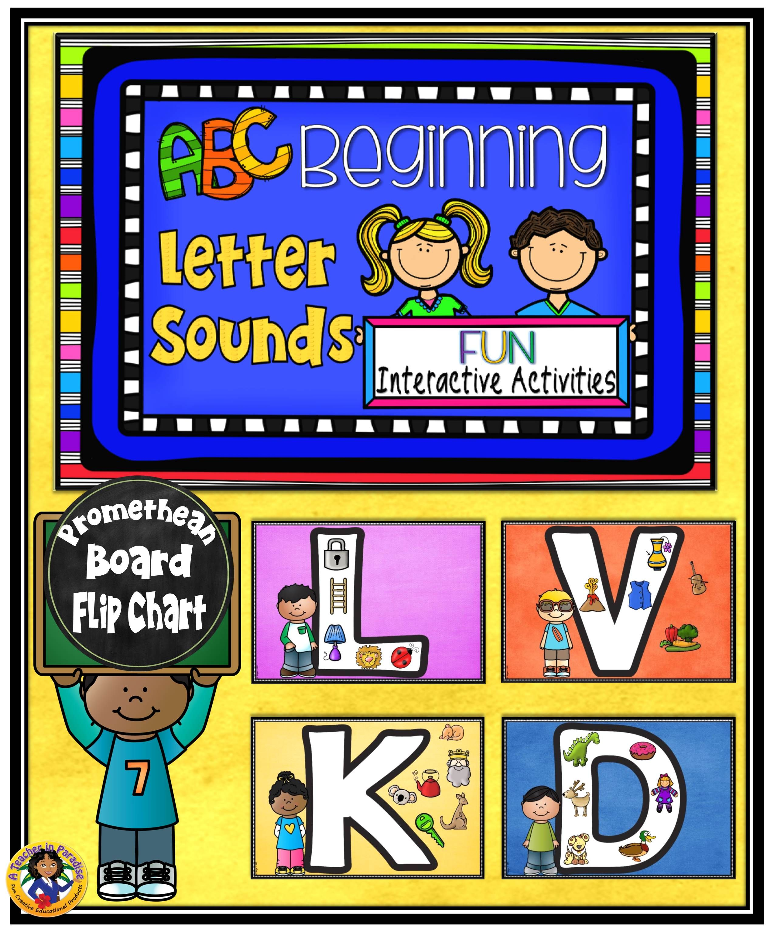 Alphabet Beginning Sounds Flip Chart