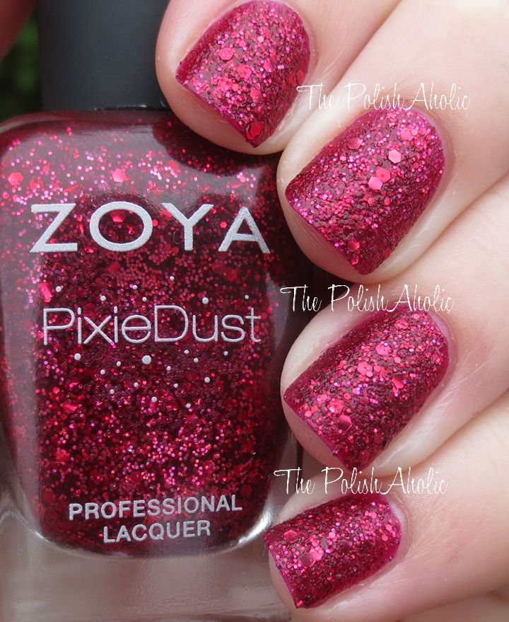 Zoya Fall 2014 Ultra PixieDust Swatch and Review - Naked