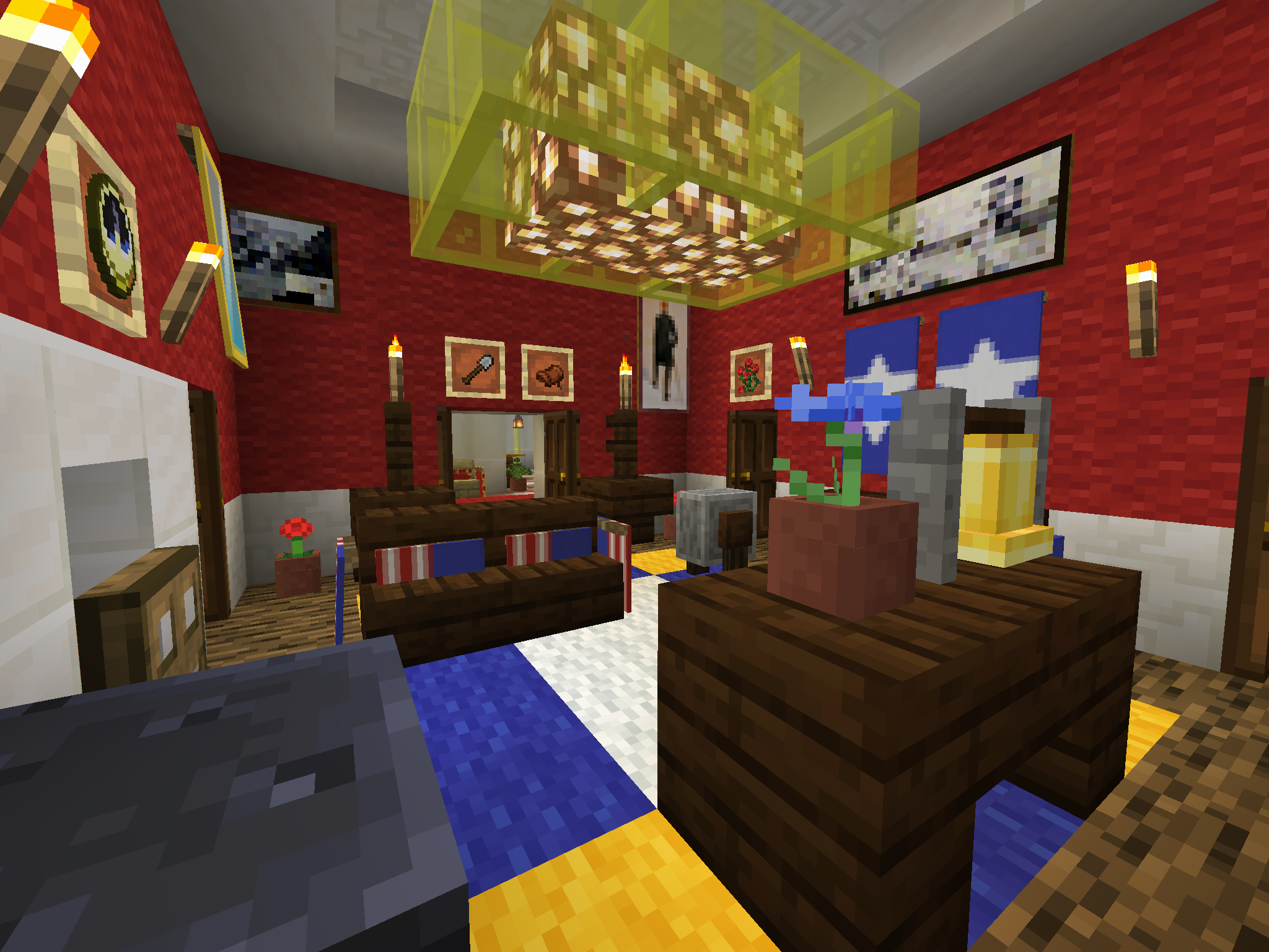 Pin On Minecraft House Interior Designs