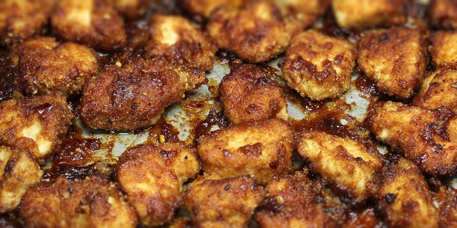 keto bites general tso's chicken  recipe  chicken