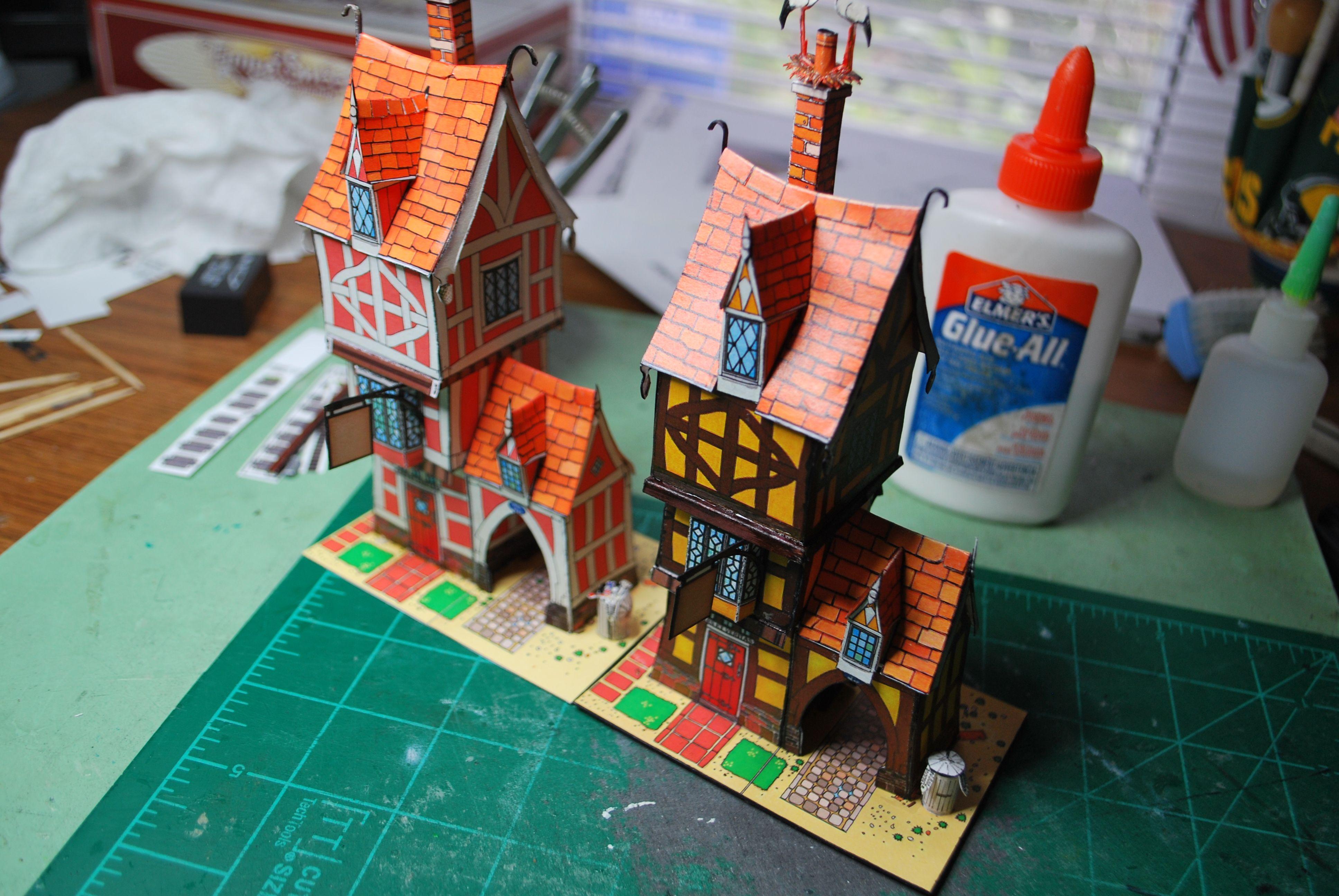 Fiddler's Green Fantasy houses!