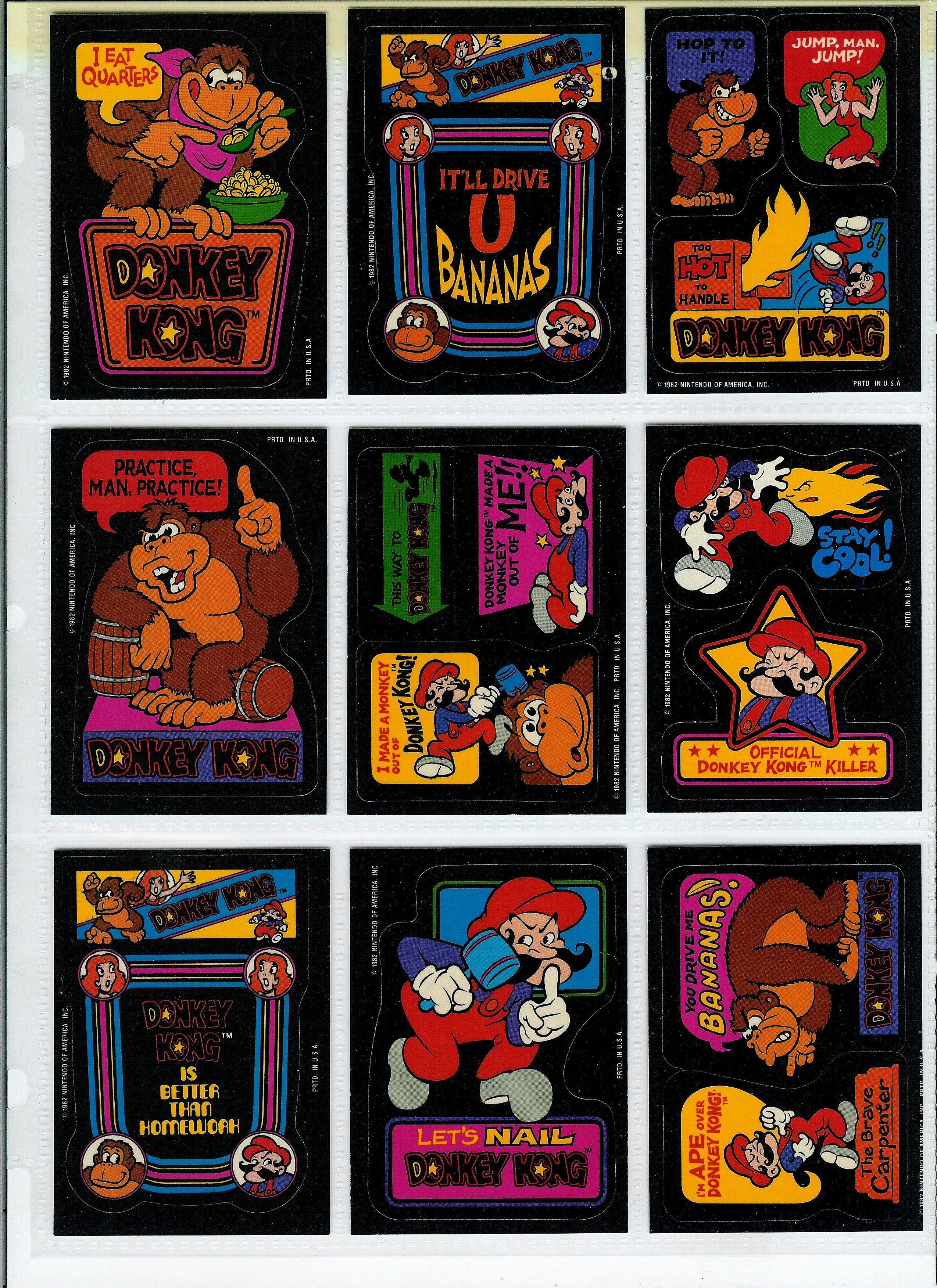 donkeykongcards31.jpg 2,549×3,506 pixels Sticker album