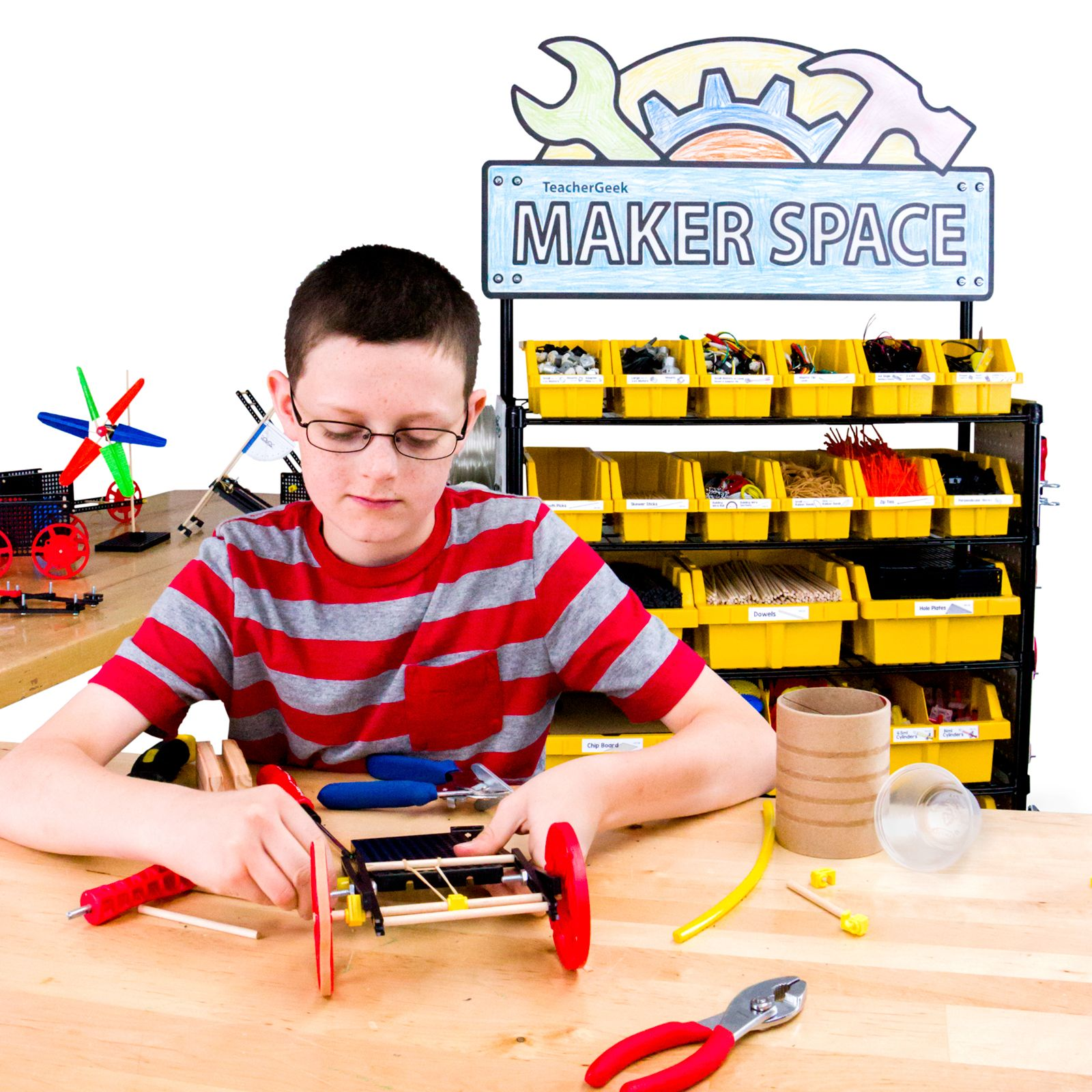 Teachergeek And Maker Carts Are Now Available On Amazon