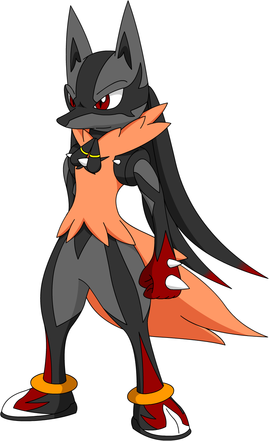 Mega Hypon Lucario by LucarioShirona on DeviantArt