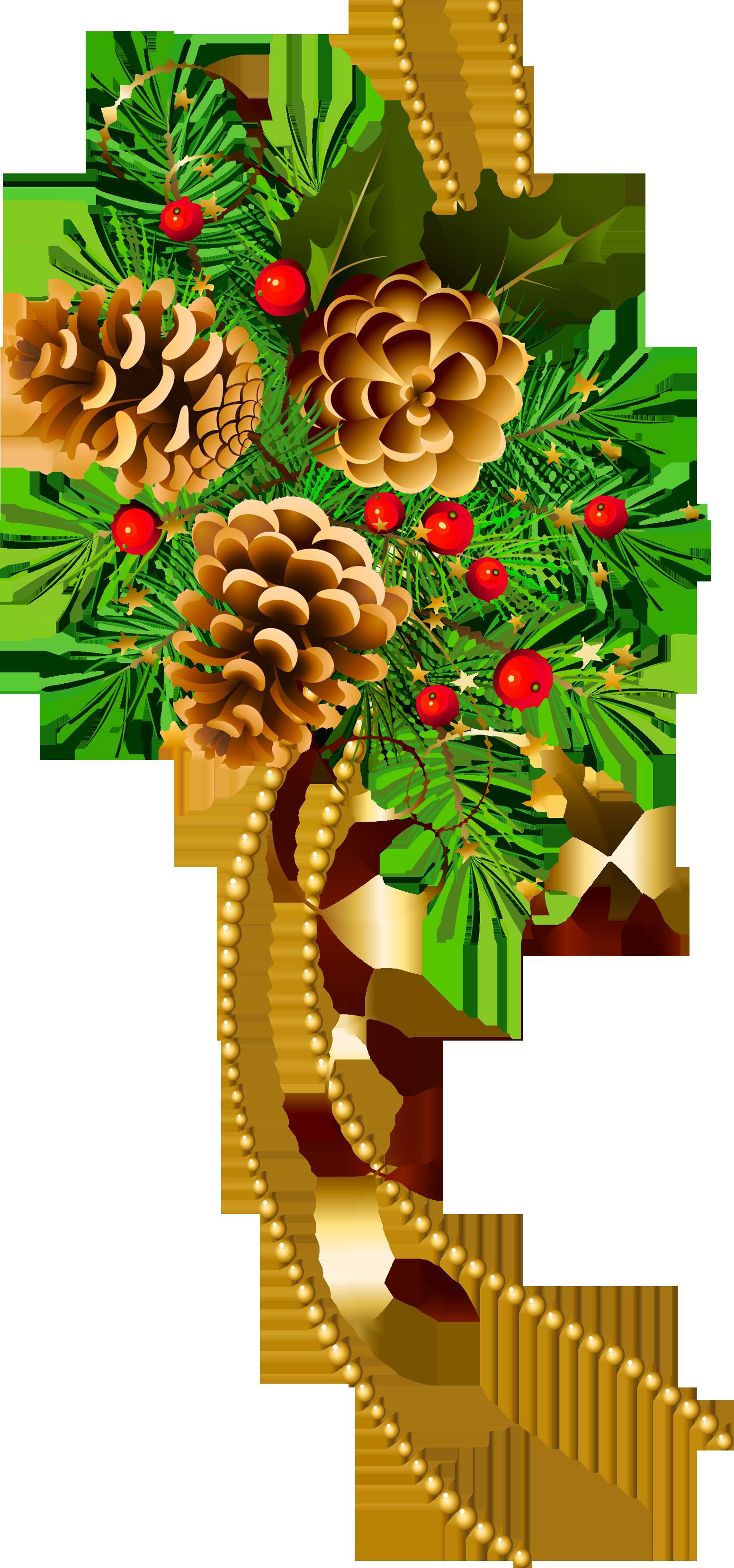 christmas pine cone drawing - photo #37