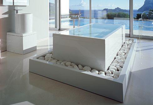 Une Fabuleuse Baignoire à Débordement Philippe Starck - Salle de bain d exception
