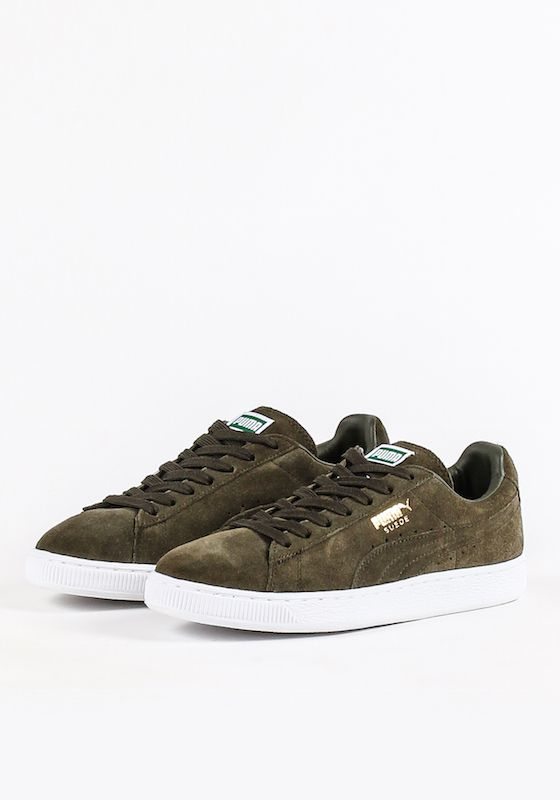 sale retailer 9c775 b9f2a PUMA SUEDE CLASSIC+ - FOREST NIGHT/WHITE | Shoes | Shoes ...