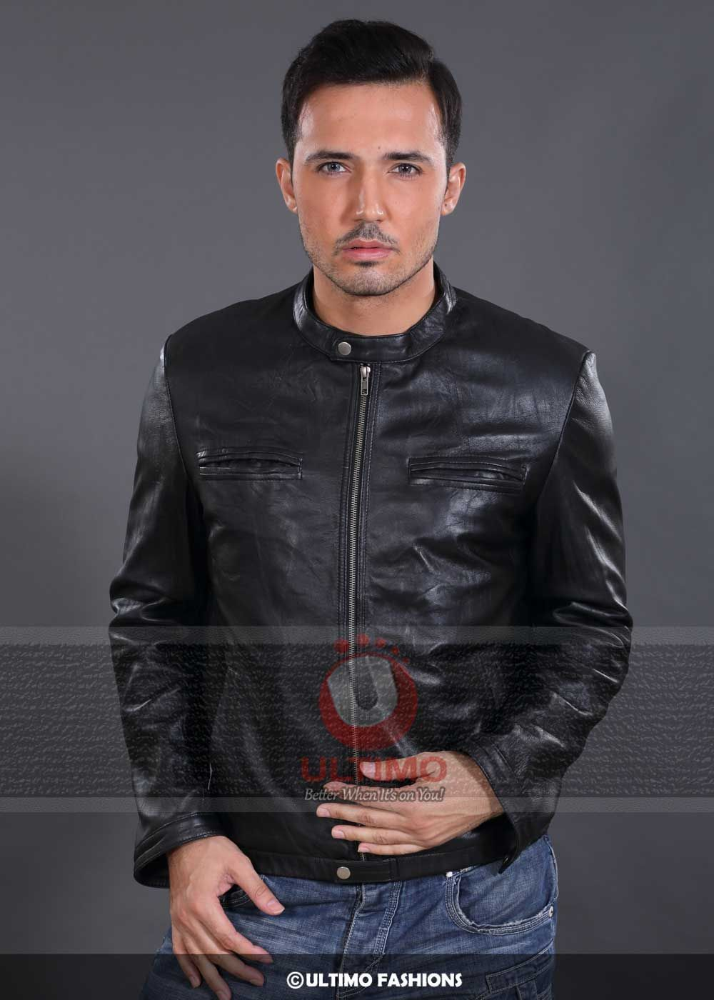 17 Again OBLOW Leather Jacket For Mens Zac Efron appeared
