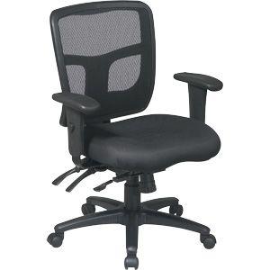 Office Star Proline Ii Progrid Managers Desk Chair Black 92893