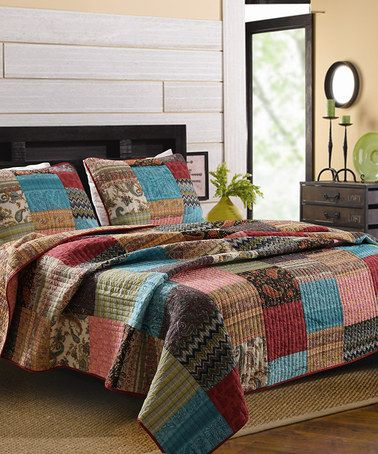 Another Great Find On Zulily New Bohemian Quilt Set By
