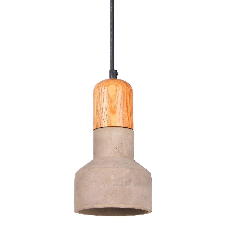 Lampe originale de suspension fabriquée en ciment avec une fusion