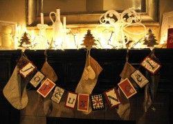 Our #Christmas #mantel. #Joyeux #Noel!