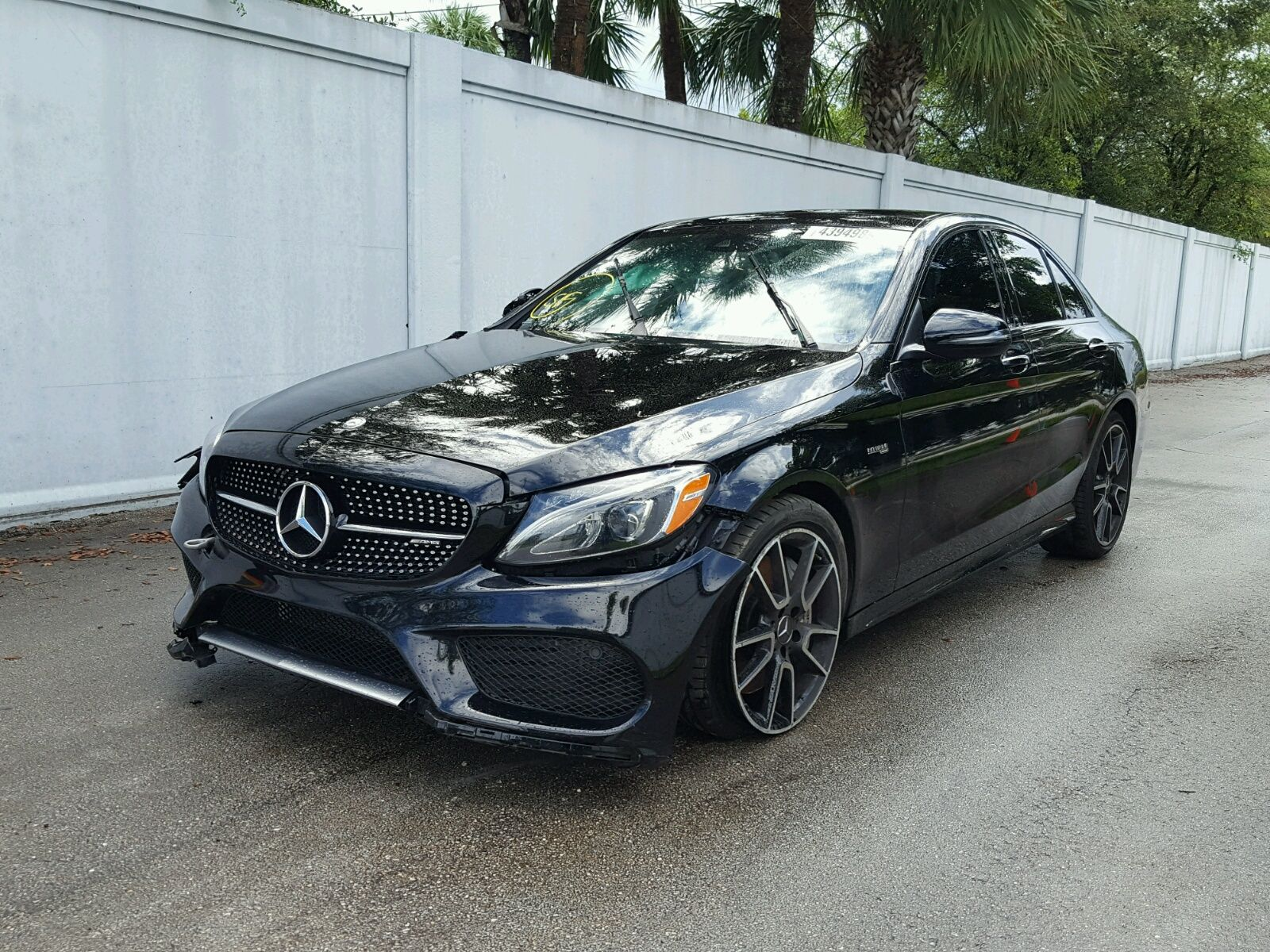 Salvage 2017 Mercedes benz C43 Amg Salvage Auction