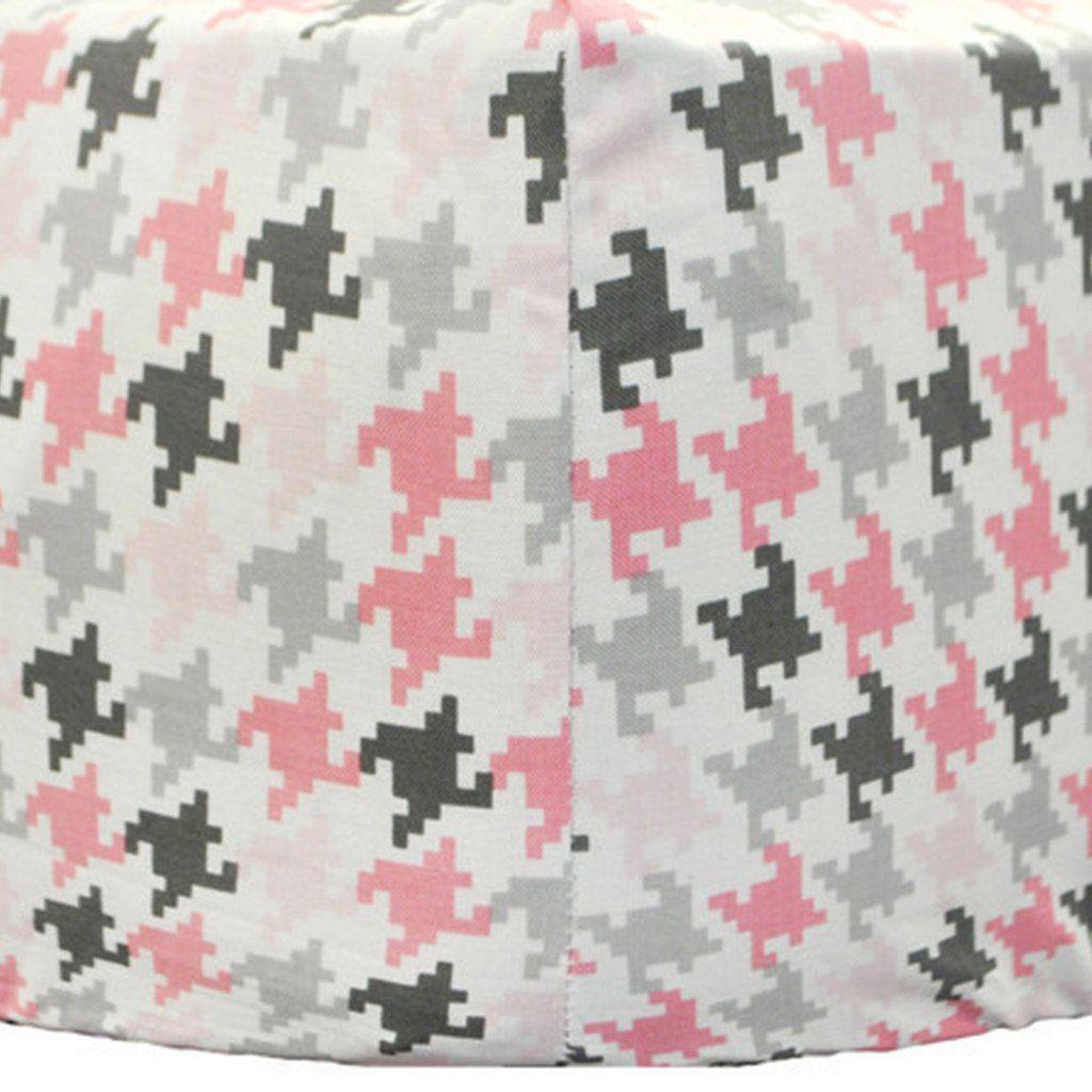 Crib Sheet   Pink & Gray Paper Moon Crib Baby Bedding Set