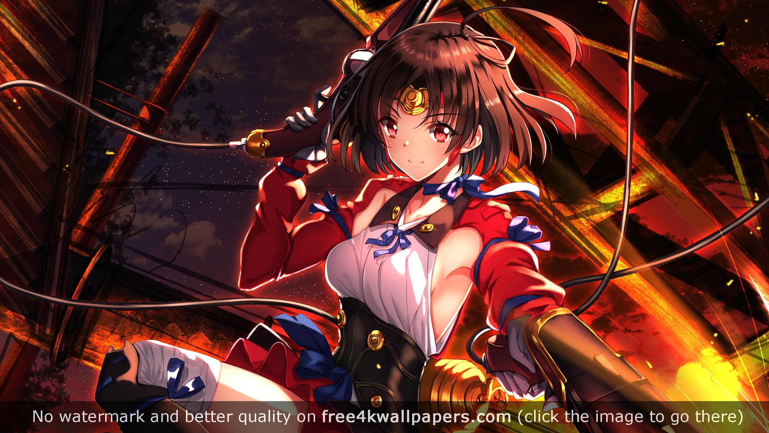 Mumei Kabaneri Of The Iron Fortress Hd Wallpaper Iron Fortress Anime Wallpaper Anime