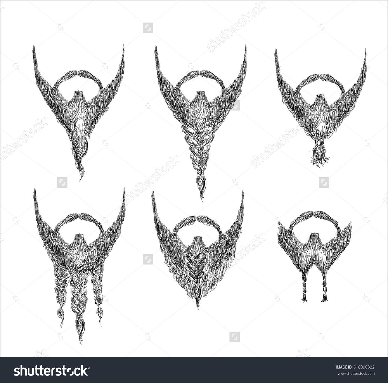 Barbers Guide For Beard Styles Vector Barber , Beard ,