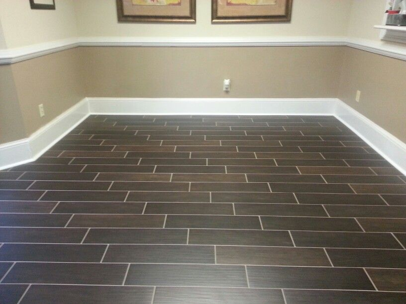 Fresh Tile In Basement