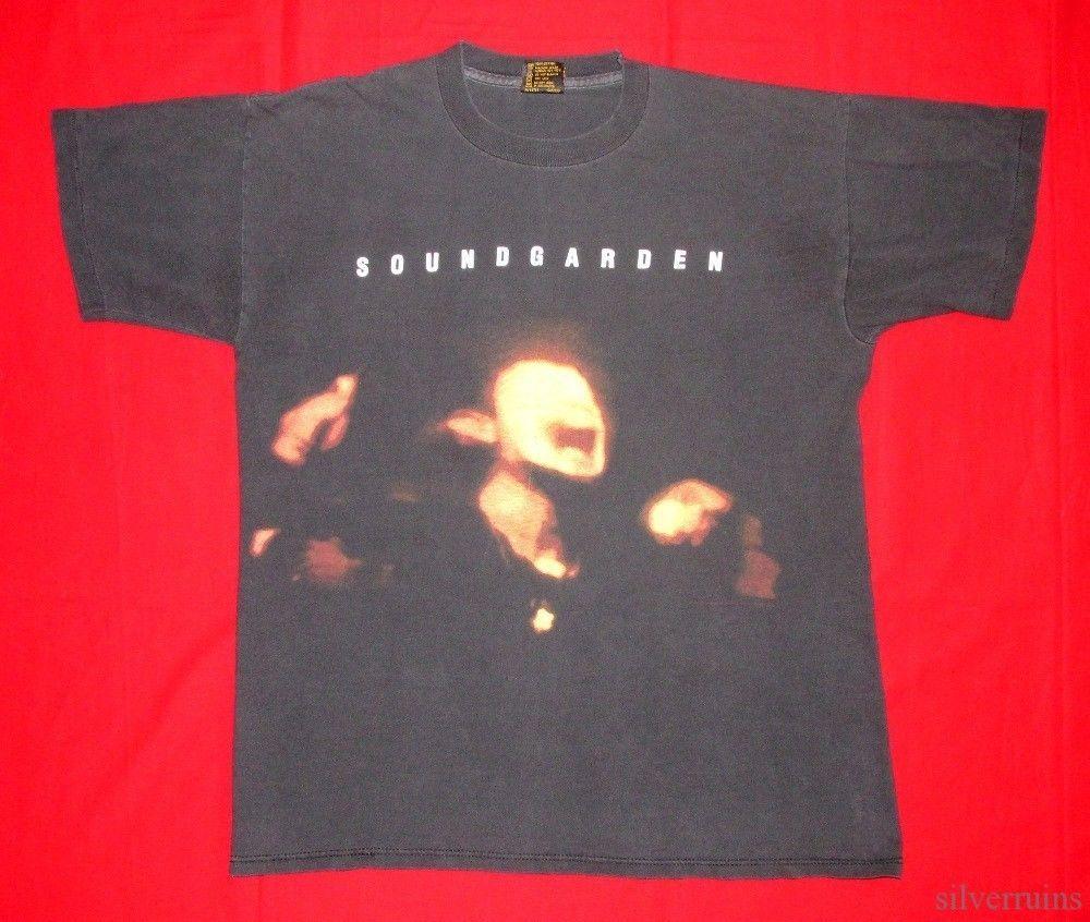 Gallery images and information soundgarden badmotorfinger tattoo - Soundgarden Superunknown T Shirt Front