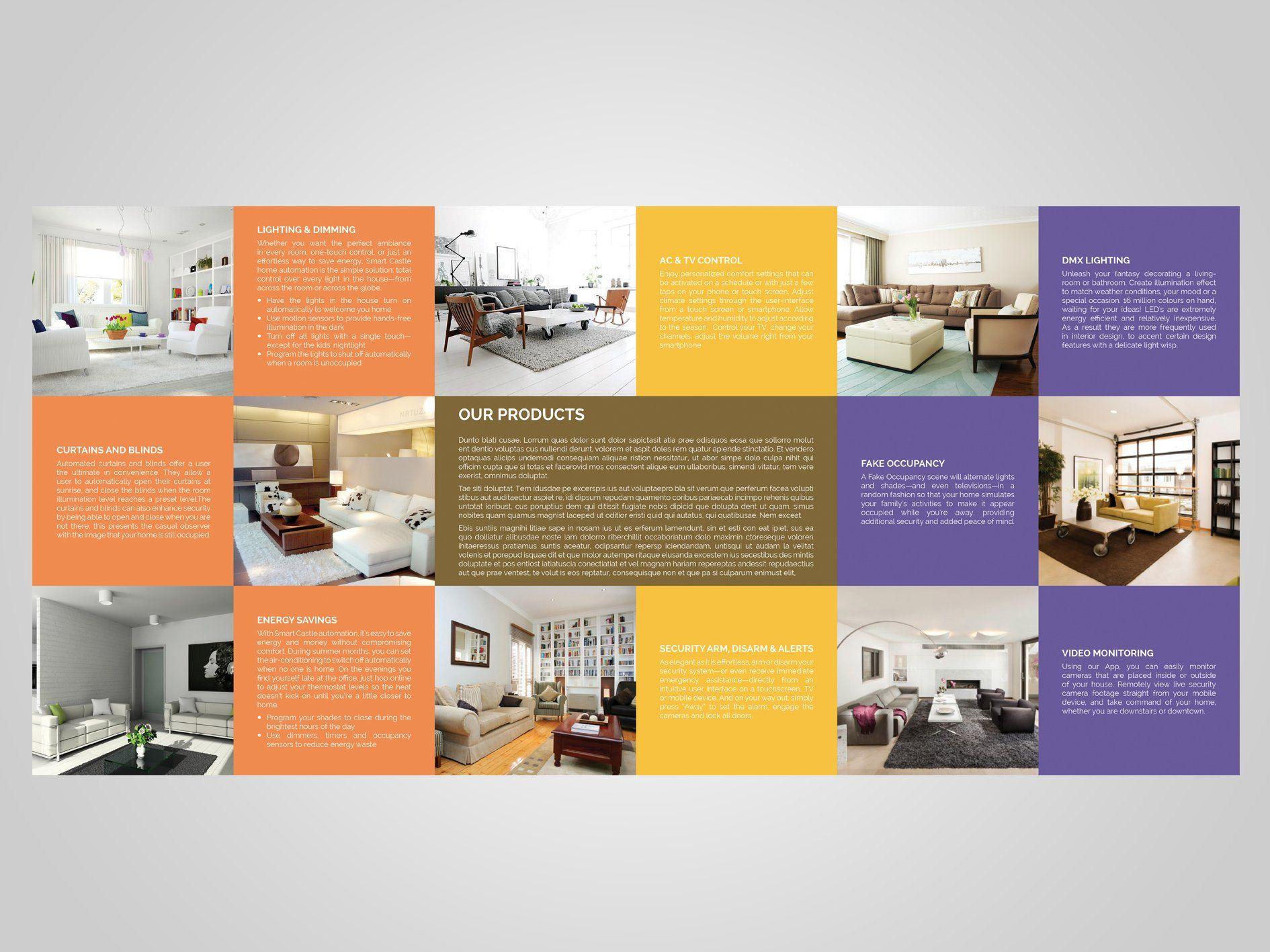 Square Trifold Brochure Trifold Brochure Trifold Brochure Template Brochure Template