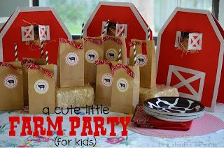Harvest Blessing In My Treasure Box: Farm Party Ideas
