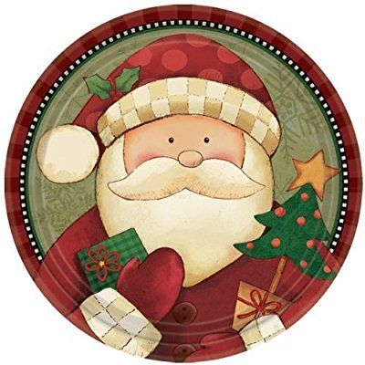 Christmas Snowman 7/'/' Paper Plates Pack of 8